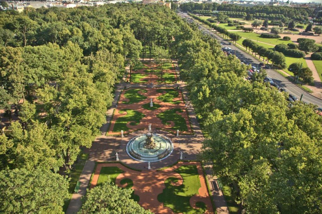 Gardens of Russian Museum