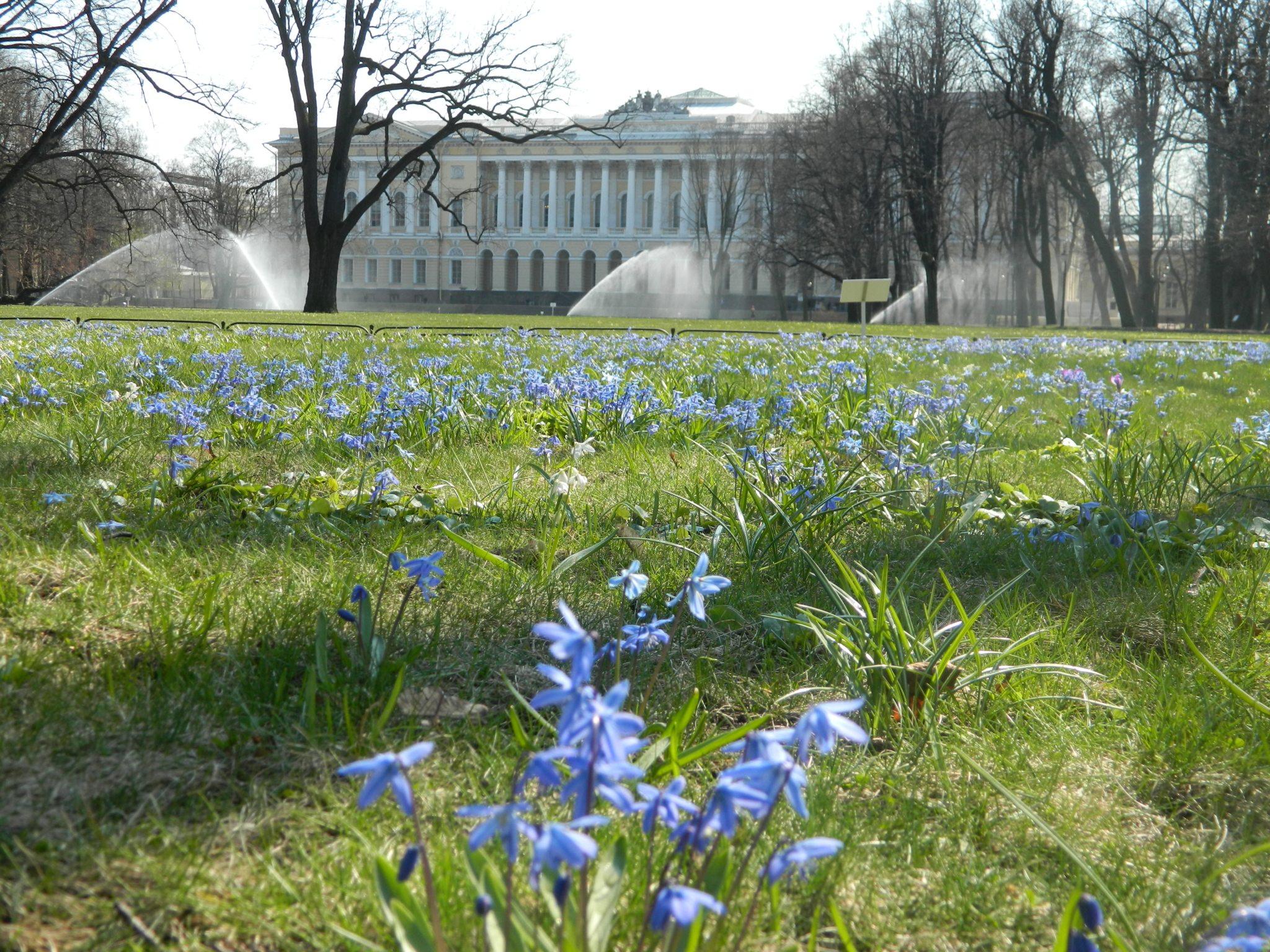 Михайловский сад весной - Mikhailovsky Garden