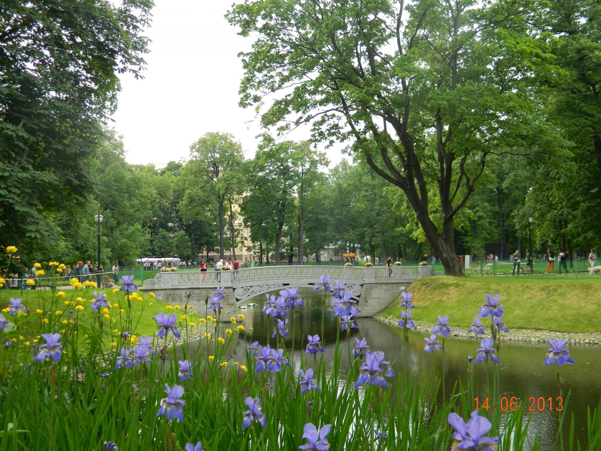 Михайловский сад - Ирисы - Mikhailovsky Garden