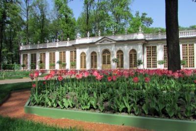 Малая Оранжерея в боскете Красный сад Small Greenhouse in the Red Garden Bosquet
