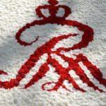 Императорские сады - логотип из цветов