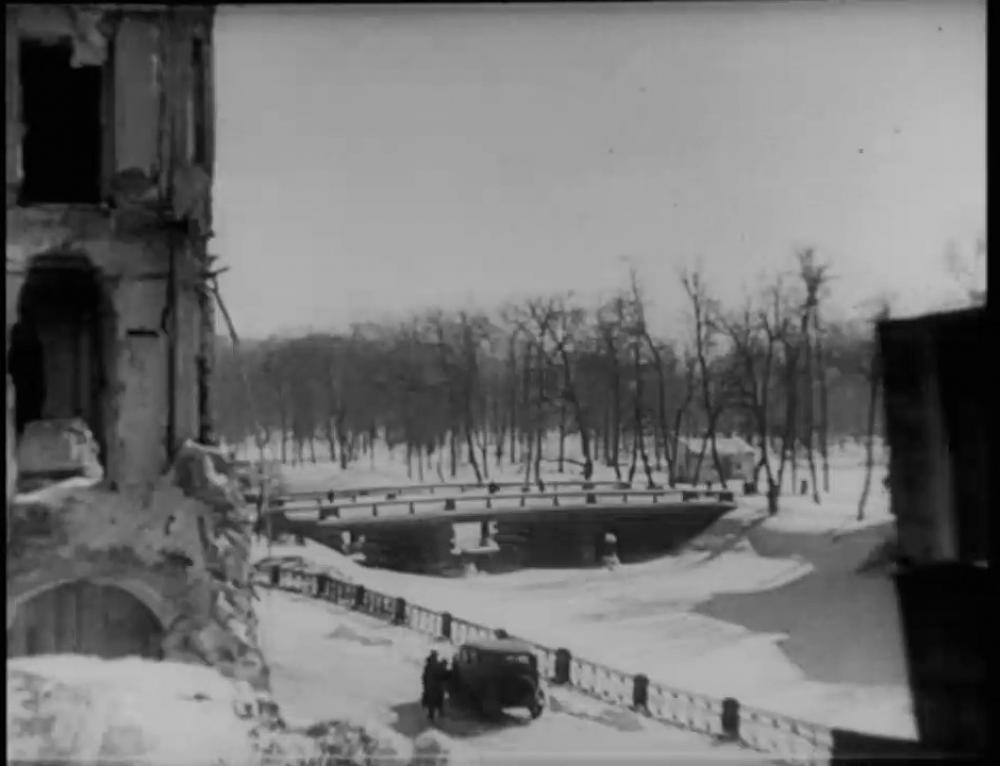 Gardens of the Siege of Leningrad. January 18-27. Days of Remembrance.