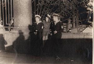 Ограда Летнего сада, 1946 г