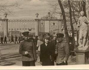 Летний сад 9 мая 1945 г
