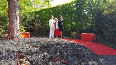 Русский сад «Авангарден» в Шомон-сюр-Луар