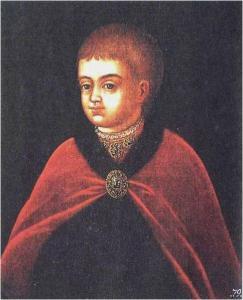 Пётр I. Парсуна XVII века.