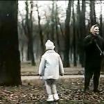 8. Кадр из фильма О любви 1970 г. В Летнем саду