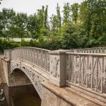 Чугунный мостик в Михайловском саду