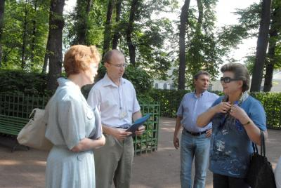 Терешкова в Летнем саду 2013