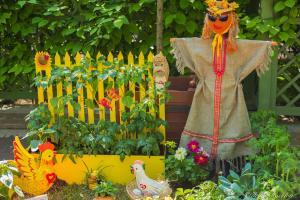 Детские проекты у памятника И.А. Крылова