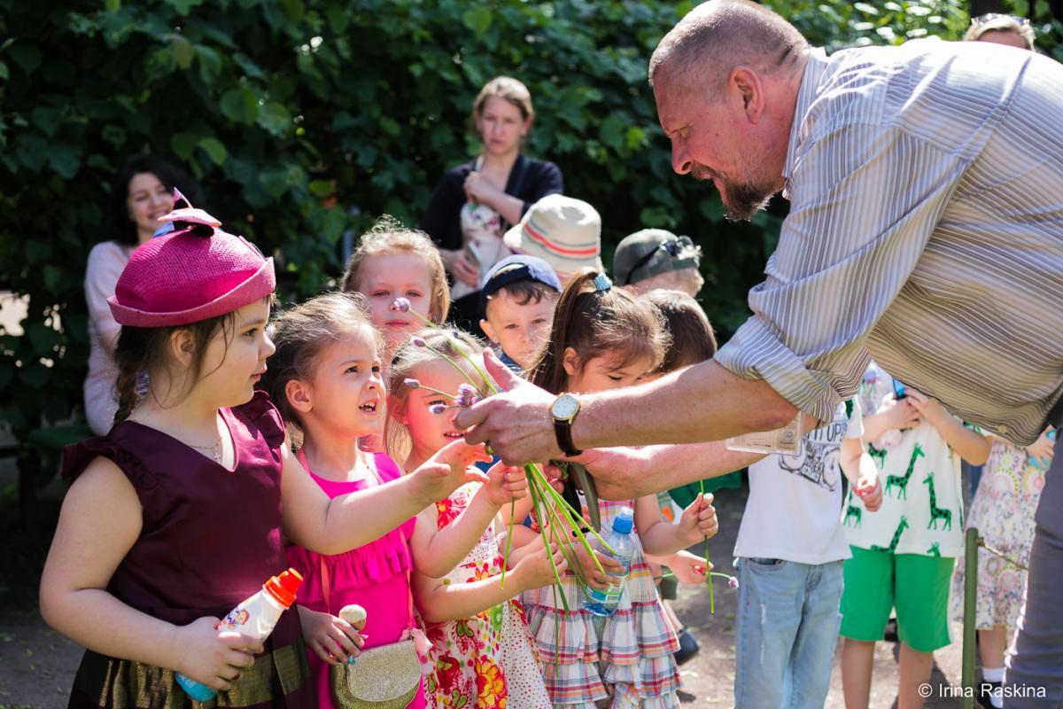 Детский сад в Летнем саду 2019.06.05