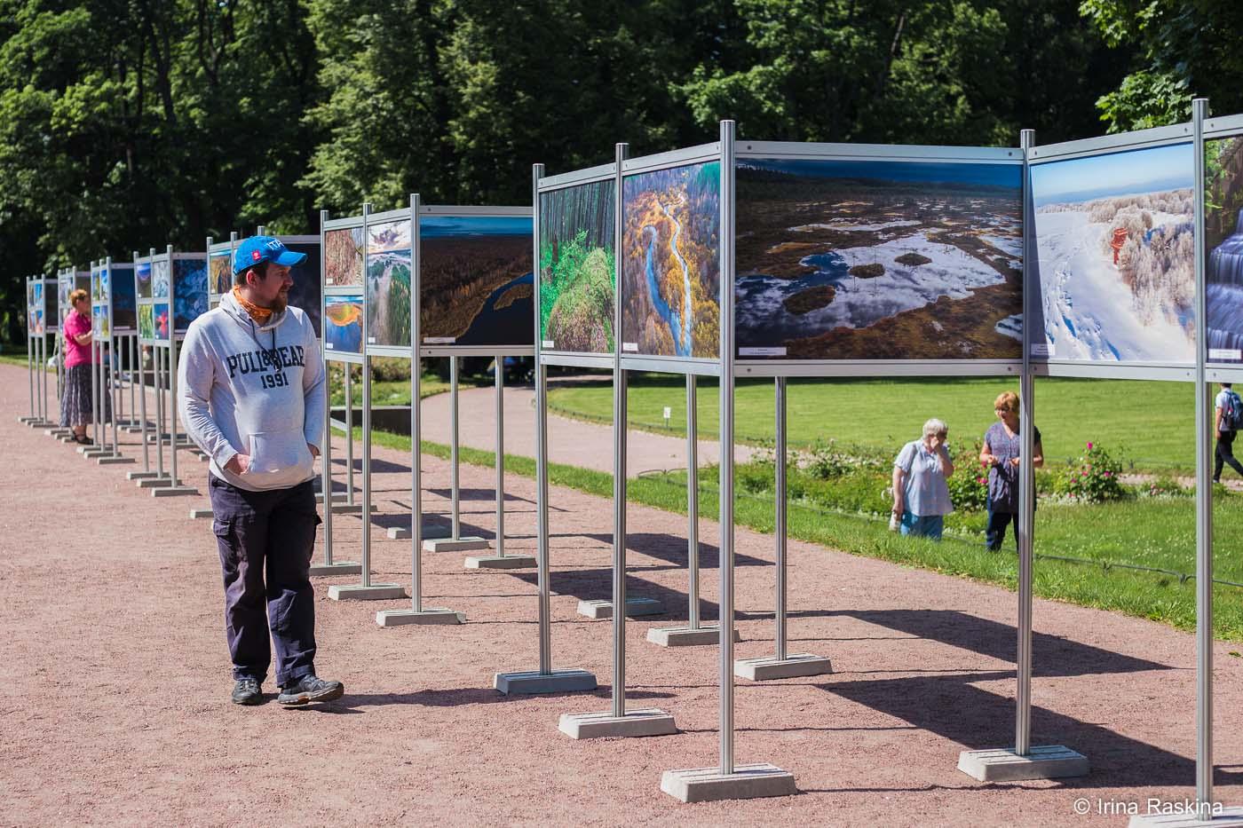 Фотовыставка ООПТ в Михайловском саду