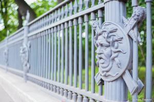 Ограда Шарлемани в Летнем саду