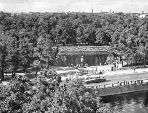САДЫ РУССКОГО МУЗЕЯ 1945 ГОД
